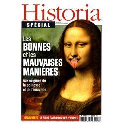 Historia Spécial n° 19 - Les Bonnes et les Mauvaises manières - Aux origines de la politesse et de l'incivilité