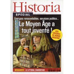 Historia Spécial n° 7 - Le Moyen Âge a tout inventé !