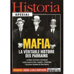 Historia Spécial n° 25 - La Mafia. La véritable histoire des parrains