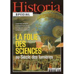 Historia Spécial n° 28 - La folie des sciences au Siècle des Lumières