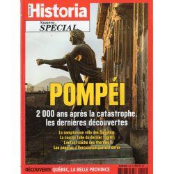 Historia Spécial n° 43 - Pompéi. 2 000 ans après la catastrophe, les dernières découvertes