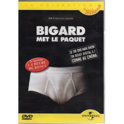 Jean-Marie Bigard - Met le paquet (2000) - DVD Zone 2