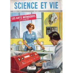 Science & Vie n° 390 - Mars 1950 - Les Arts Ménagers