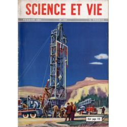 Science & Vie n° 401 - Février 1951 -  Des derricks roulants