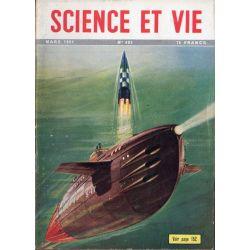 Science & Vie n° 402 - Mars 1951 - Le sous-marin atomique