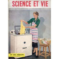 Science & Vie n° 414 - Mars 1952 - Les Arts Ménagers