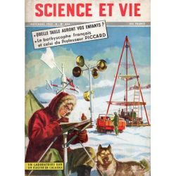 Science & Vie n° 434 - Novembre 1953 - Le Bathyscaphe français
