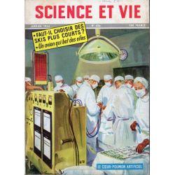 Science & Vie n° 436 - Janvier 1954 - Les coeurs-poumons artificiels