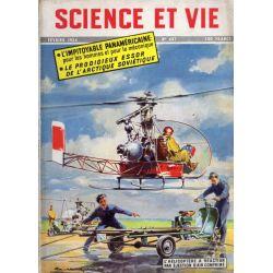 Science & Vie n° 437 - Février 1954 - L'hélicoptère à réaction par éjection d'air comprimé