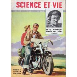 Science & Vie n° 442- Juillet 1954 - Tourisme et camping à Motocyclette