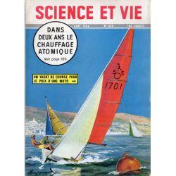 Science & Vie n° 443 - Aout 1954 - Le Chauffage atomique