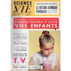 Science & Vie n° 458 - Novembre 1955 - Comment nourrir et élever vos enfants