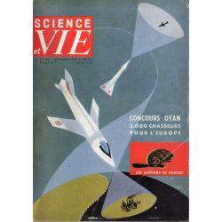 Science & Vie n° 468 - Septembre 1956 - Concours Otan, 2000 chasseurs pour l'Europe