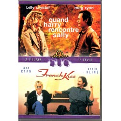 Quand Harry rencontre Sally et French Kiss - double DVD Zone 2