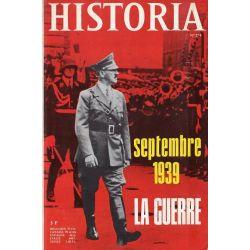 Historia n° 274 - Septembre 1939 : La Guerre