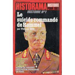 Historama n° 315 - Le Suicide commandé de Rommel