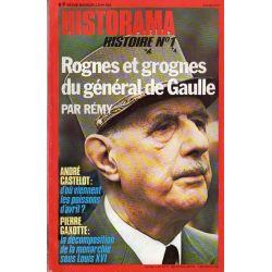 Historama n° 305 - Rognes et grognes du Général de Gaulle (par Rémy)