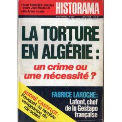 Historama n° 260 - La Torture en Algérie : un crime ou une nécessité ?