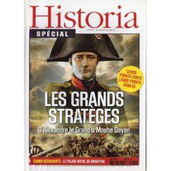 Historia Spécial n° 1 - Les grands stratèges d'Alexandre le Grand à Moshe Dayan