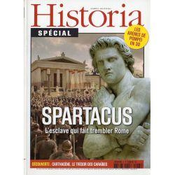 Historia Spécial n° 5 - Spartacus, l'esclave qui fait trembler Rome