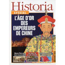 Historia Spécial n° 130 - L'âge d'or des Empereurs de Chine