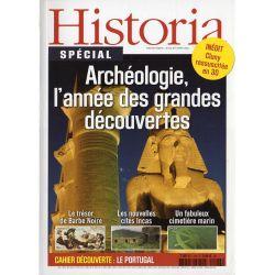 Historia Spécial n° 126 - Archéologie, l'année des grandes découvertes