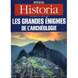 Historia Spécial n° 120 - Les Grandes Énigmes de l'Archéologie