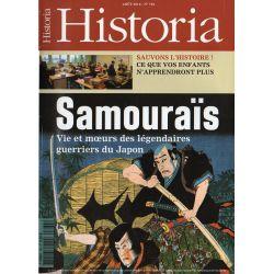 Historia n° 764 - Samouraïs, vie et mœurs des légendaires guerriers du Japon