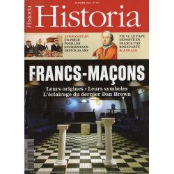 Historia n° 757 - Francs-Maçons, Origines et secrets des frères trois points