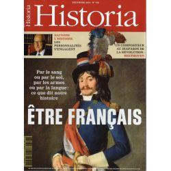 Historia n° 768 - ÊTRE FRANÇAIS, par le sang ou par le sol, par les armes ou par la langue