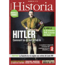 Historia n° 779 - HITLER, comment on en est arrivé là