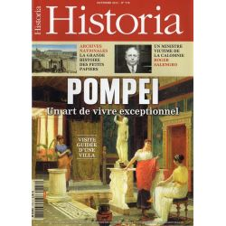 Historia n° 778 - POMPEI, un art de vivre exceptionnel