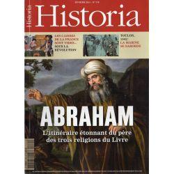 Historia n° 770 - ABRAHAM, l'itinéraire étonnant du père des trois religions du Livre