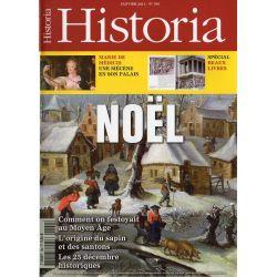 Historia n° 769 - NOËL, comment on festoyait au Moyen Age, L'origine du sapin et des santons