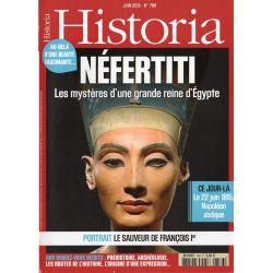 Historia n° 786 - NÉFERTITI, les mystères d'une grande Reine d'Égypte