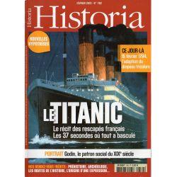 Historia n° 782 - Le TITANIC, le récit des rescapés français
