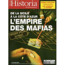 Historia n° 679 - L'Empire des Mafias, de la Sicile à la Côte d'Azur