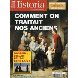 Historia n° 682 - Comment on traitait nos anciens