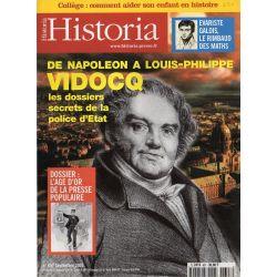 Historia n° 657 - VIDOCQ de Napoléon à Louis-Philippe, les dossiers secrets de la police d'Etat