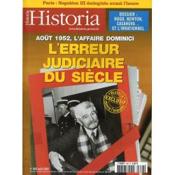 Historia n° 668 - Août 1952, l'affaire Dominici, l'erreur judiciaire du Siècle