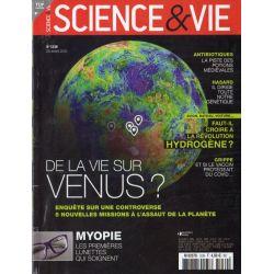 Science & Vie n° 1239 - De la Vie sur Vénus ?