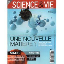 Science & Vie n° 1237 - Physique : Une nouvelle matière ?