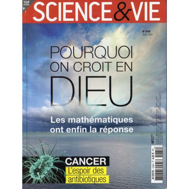 Science & Vie n° 1235 - Pourquoi on croit en DIEU, les mathématiques ont enfin lé réponse
