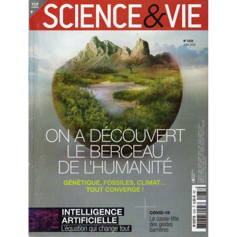 Science & Vie n° 1233 - On a découvert le Berceau de l'Humanité