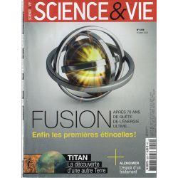 Science & Vie n° 1229 - Fusion, enfin les premières étincelles !