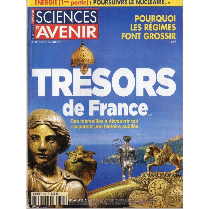 Sciences et Avenir n° 773 - TRESORS de France