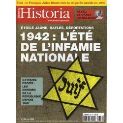 Historia n° 666 - 1942 : L'été de l'infamie nationale