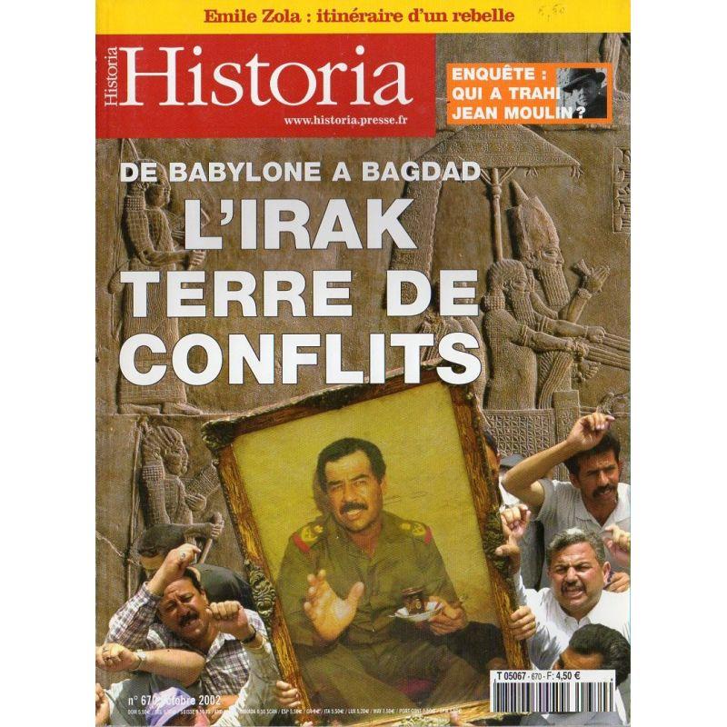 Historia n° 670 - De Babylone à Bagdad, l'Irak, Terre de conflits