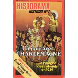 Historama n° 302 - Un jour avec CHARLEMAGNE