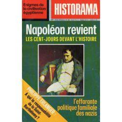 Historama n° 295 - Napoléon revient, les Cent-Jours devant l'Histoire